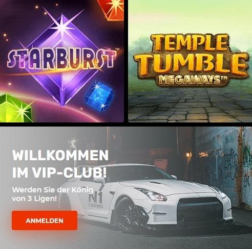 Spieleanbieter beim N1 Casino