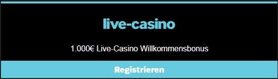 Betway Casino Live-Casino Boni