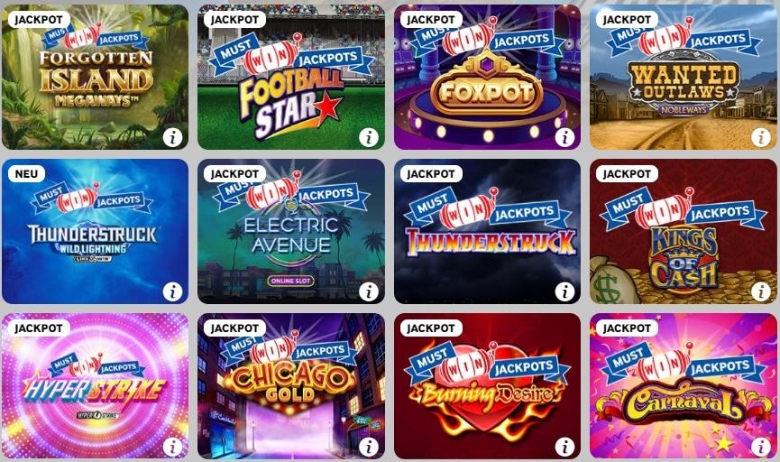 Betway Casino Spielen Progressiven Jackpots